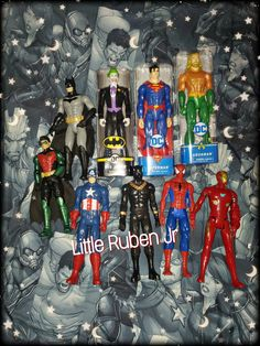 My Sons Superhero 12 inch Figures | Superhero Collection | Villains | Marvel DC | Little Ruben