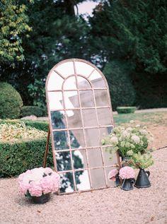 Glam Parisian wedding decor: http://www.stylemepretty.com/destination-weddings/france-weddings/2016/04/07/your-jaw-will-drop-when-you-see-this-flower-filled-paris-wedding/ | Photography: Le Secret D'Audrey - http://lesecretdaudrey.com/