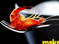 Shrimp acrylic on canvas