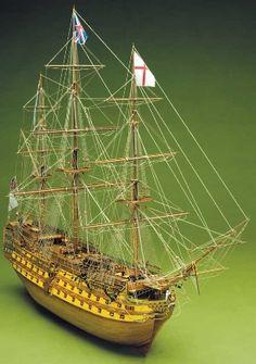 Ship model Victory, wooden kit Mantua Sergal (www.victoryshipmodels.com)