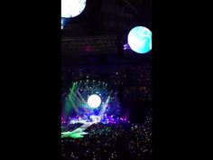 """Coldplay - """"Paradise""""   Coldplay Mylo Xyloto Concert live at Key Arena in Seattle, WA 2012"""