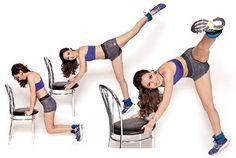 Эффективная тренировка со стулом