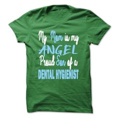(Top Tshirt Fashion) Angel Dental Hygienists son [Tshirt design] Hoodies, Tee Shirts