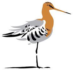 Nationale Vogel van Nederland: de GRUTTO, logo ontworpen door Erik van Ommen