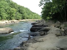 West Virginia: Tygart Valley River at Valley Falls State Park, Fairmont, WV