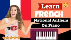 French National Anthem Piano Lesson - Leçon De piano De L'hymne National... French National Anthem, Easy Piano Songs, Piano Lessons, Learning, Youtube, Piano Songs, National Anthem, Piano Classes, Studying