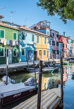 The beautiful colours of Burano Island Venice - Part of a great 5 days in Venice itinerary