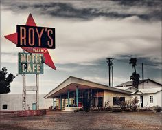The famous Roy's Motel & Cafe on Route 66 in Amboy, CA.