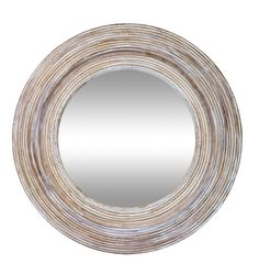 Clay And White Round Mirror Wall MirrorRound MirrorsWall MirrorsMirrors OnlineSmall BathroomClayAustralia