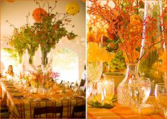 Modern Thanksgiving: Festive Florals & Colorful Details