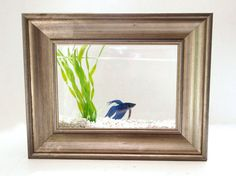 Glitter 'N Glue DIY Framed Fish Tank  - Aquarium