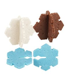 Loving this Snowflake Candy Mold - Set of Three on #zulily! #zulilyfinds