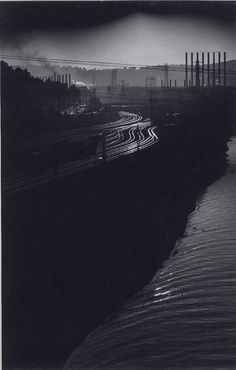 "Eugene Smith, ""Pittsburgh Tracks"", 1955"