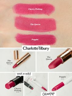 Charlotte Tilbury Pillow Talk Dupe Dupes In 2018 Pinterest Dupes Lipstick Dupes And Makeup