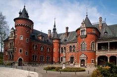 Castle in Plawniowice, Poland