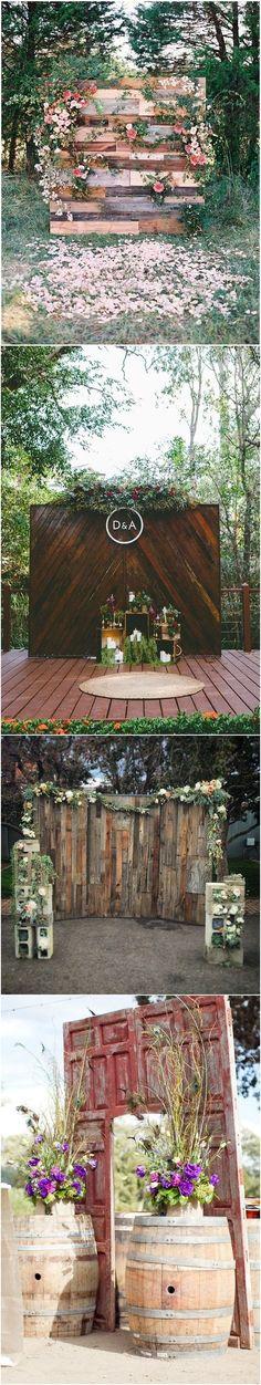 unique wedding ideas - wedding backdrop ideas / http://www.deerpearlflowers.com/wedding-backdrop-ideas-from-pinterest/
