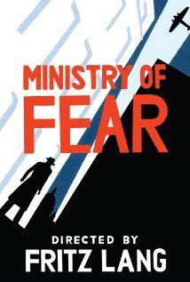 A félelem minisztériuma (1944) Poster