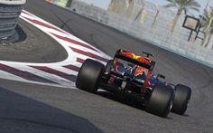 Abu Dhabi Tyre Test - Max Verstappen (Red Bull Racing)