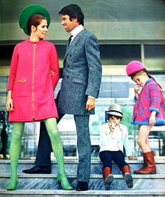 Pierre Cardin - Adult designer clothes in kids sizes.. Libelle (Dutch) October 1967