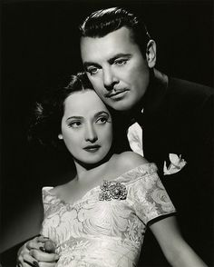 Merle Oberon and George Brent   Publicity still for the 1940 movie 'Till We Meet Again.