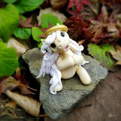 Singing Angel Palomino Filly By Whisper Fillies Whisperfillies.etsy.com Unique little handmade polymer clay horse, pony, unicorn and fantasy creatures  Find my work on Instagram and Facebook too!