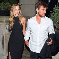 Marloes Horst stepping out in the Ariah Dress in NYC with Alex Pettyfer by her side, shop now in Boutiques xx