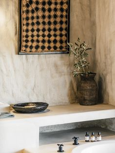 Bathroom details at Omaanda