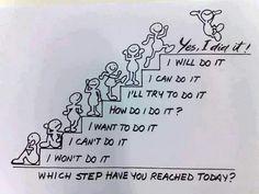 big steps or baby steps: take a step forward