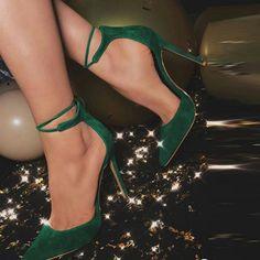 Material:Suede|Heel Height:11cm #vintage #velvet