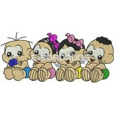 imagens da turma da monica baby - Pesquisa Google