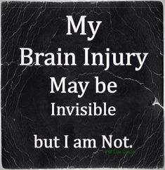 #invisible #braininjury #TBI