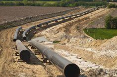 natural gas pipeline fracking