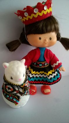 Torta Frita and Llamarita (Peru) Vintage Strawberry Shortcake, Those Were The Days, Vinyl Dolls, Custom Dolls, Some Pictures, Vintage 70s, Paper Dolls, Childhood Memories, My Friend