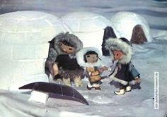 1966, Unser Sandmännchen bei den Eskimokindern