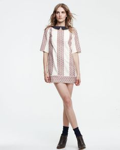 Love all of the pieces in the Lauren Moffatt spring 2012 collection. Simple, breezy, fun.