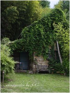Only time can do a garden shed like this.