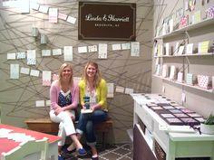 booth display - linda & harriett