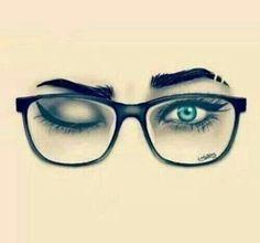 Pin de ᗩᒪYᔕᔕᗩ_ᑎIᑕOᒪE en DRAW | Pinterest | Chicas, Gafas y ...