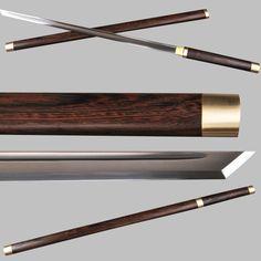 Swords Page 4 - Jenquard - Free Delivery Worldwide Fantasy Sword, Fantasy Weapons, Sword Craft, Samurai Swords Katana, Asian Sculptures, Ninja Sword, Ninja Weapons, Japanese Sword, Movies