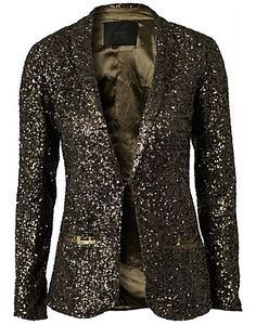 Band Jacket - Gestuz - Dark green - Jackets and coats - Clothing - NELLY.COM UK