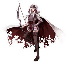 LoL: Demon Hunter Ashe by ippus.deviantart.com