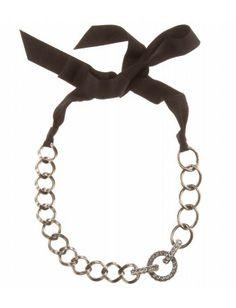 info @ashleesloves.com #Lanvin #CrystalEmbellished #Necklace #designer #fashion #jewelry #style