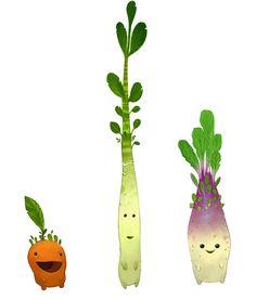 Veggie Creatures from WildStar