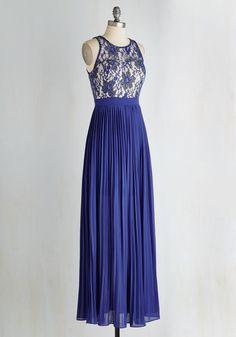 Romantic Semantics Dress in Sapphire | Mod Retro Vintage Dresses | ModCloth.com