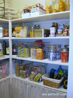 One Perfect Room : Pantry makeover