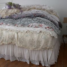 Rachel Ashwell Shbby Chic Couture Bespoke Bedding Collection