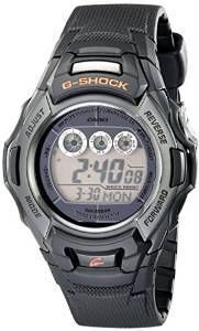 Casio Men's GW-M500F-1CR G-Shock Stainless Steel Watch with Black Resin Band