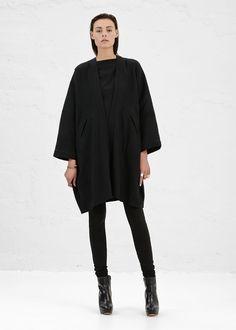 Totokaelo - Zero + Maria Cornejo Black Gaban Coat