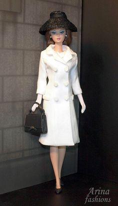 Silkstone Barbie in Arina fashions.   Flickr - Photo Sharing!