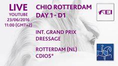 LIVE - CHIO Rotterdam 2106 - Int. Dressage Grand Prix - CDIO5*